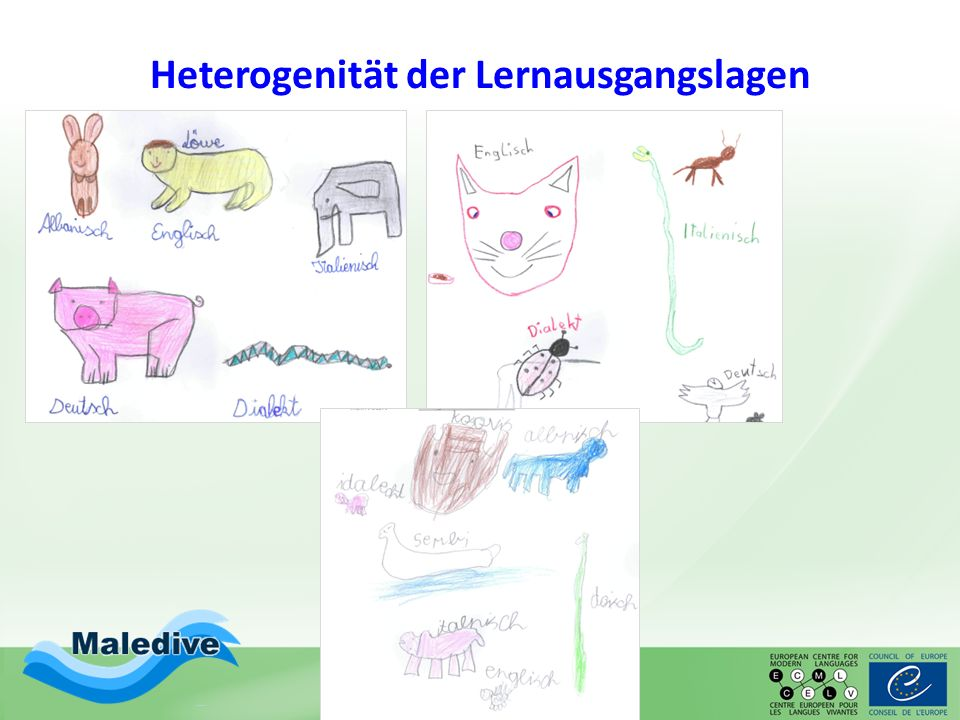 Materialien Kinder entdecken Sprachen (KIESEL): ske Der Sprachenfächer Sprachenvielfalt als Chance (Schader) Mehrsprachige Bücher und andere Texte