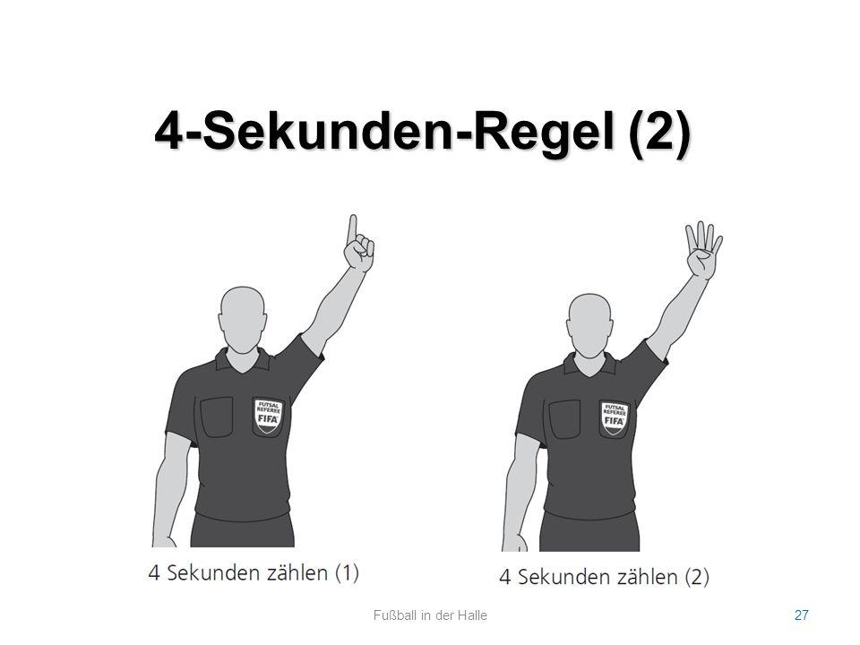 4-Sekunden-Regel (2) Fußball in der Halle27