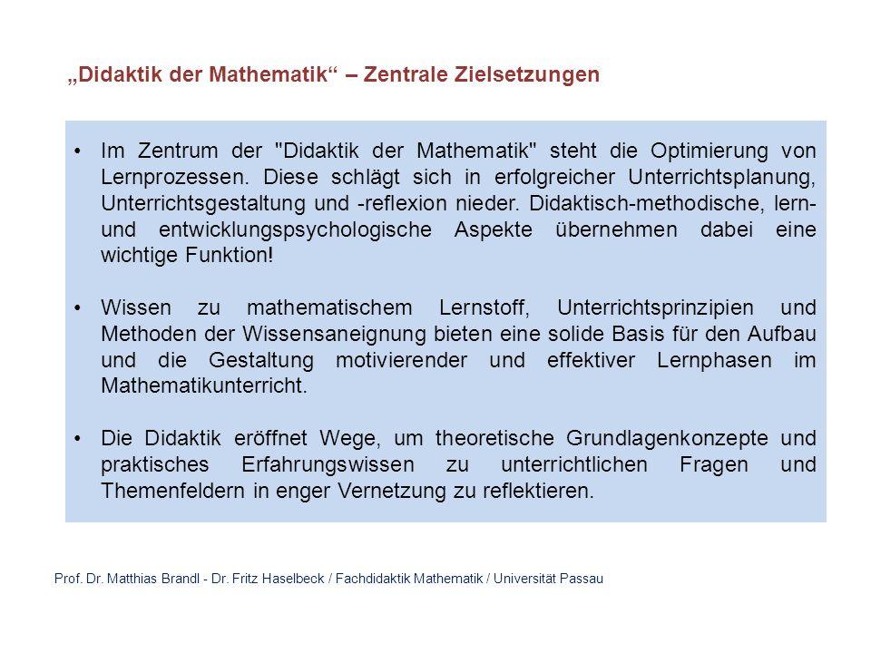 Prof. Dr. Matthias Brandl - Dr.