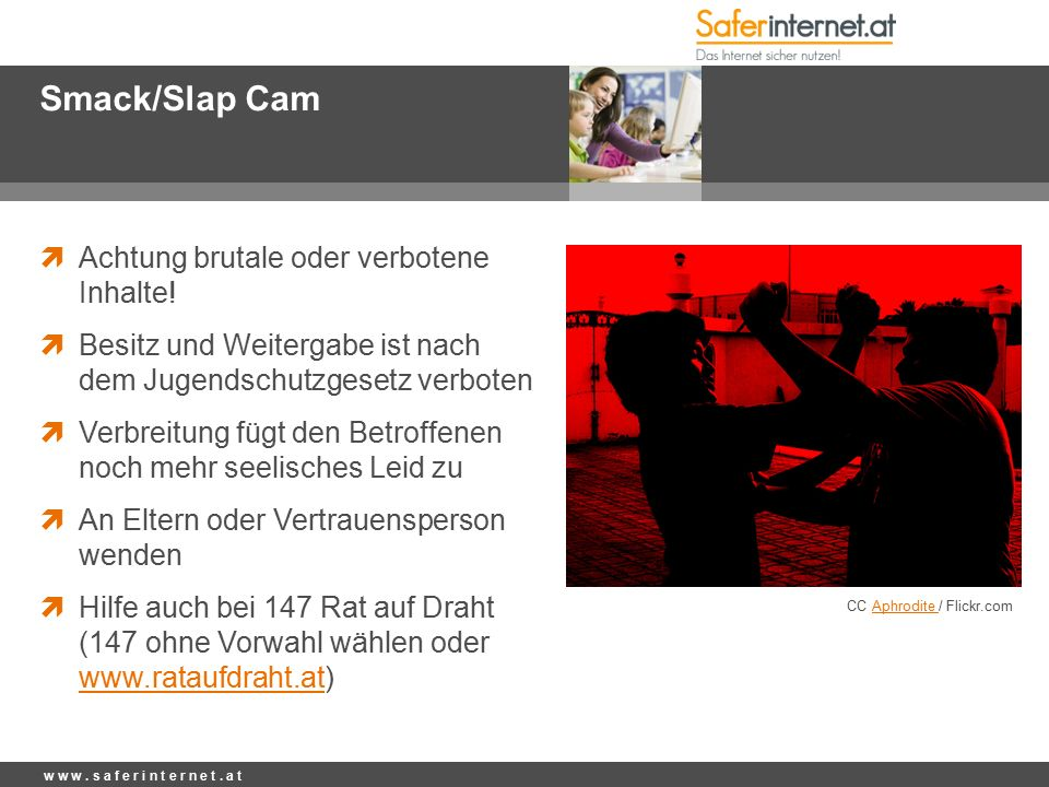 Smack/Slap Cam  Achtung brutale oder verbotene Inhalte.