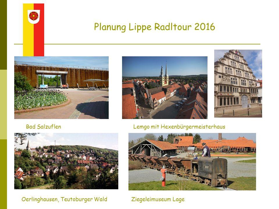 Schloss Corvey (Höxter)Hameln (Rattenfänger) Planung Lippe Radltour 2016 Donoperteich, Teutoburger Wald Bodenwerder (Münchhausen)