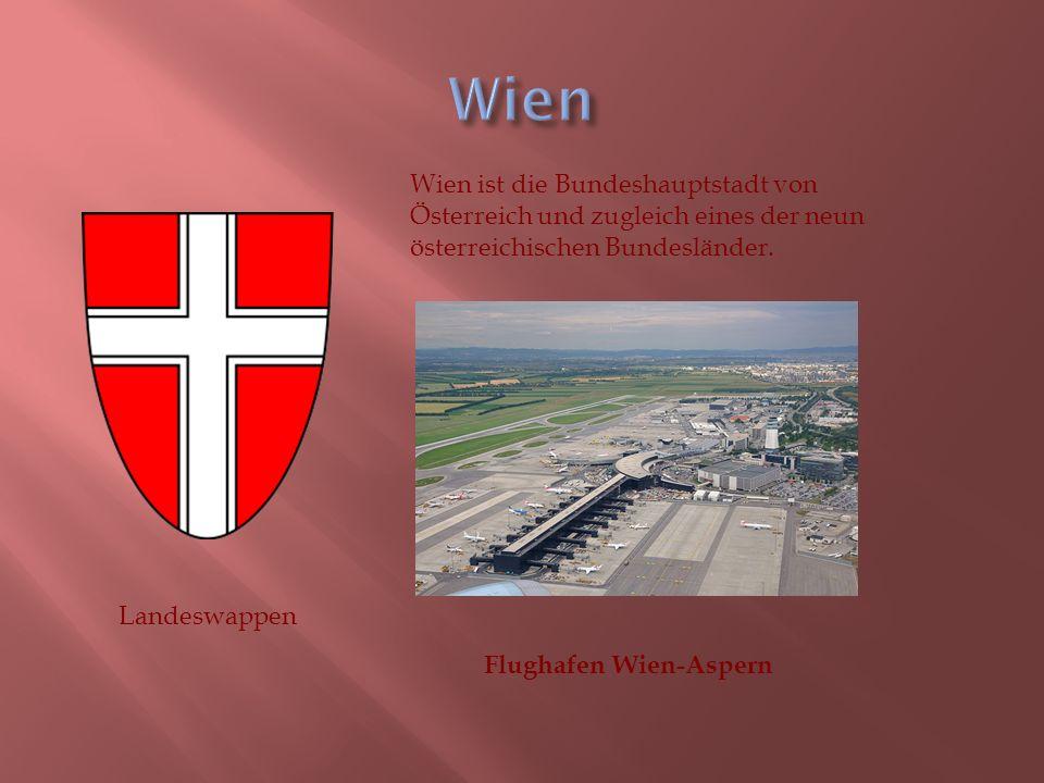 Landeswappen Wien ist die Bundeshauptstadt von Österreich und zugleich eines der neun österreichischen Bundesländer.