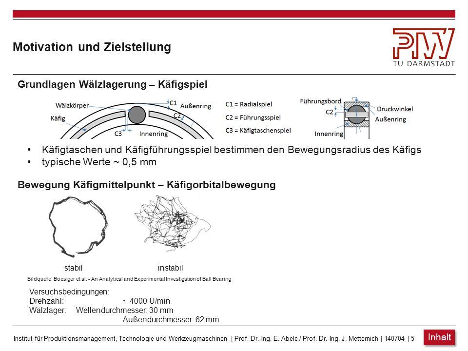 Institut für Produktionsmanagement, Technologie und Werkzeugmaschinen   Prof. Dr.-Ing. E. Abele / Prof. Dr.-Ing. J. Metternich   140704   4 Motivation