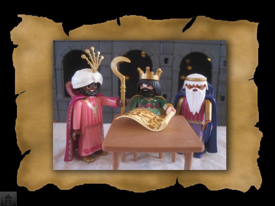 Wer brachte dem Baby Geschenke? a)Der Nikolaus und einige Weihnachtselfen b)Die heiligen drei Könige Caspar, Melchior und Balthasar c)Eine unbestimmte