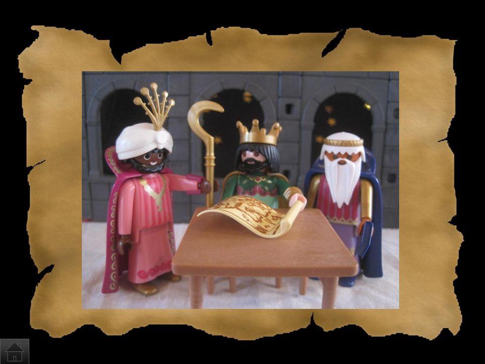Wer kam später zu Jesus? a)Der Nikolaus und einige Weihnachtselfen b)Die heiligen drei Könige Caspar, Melchior und Balthasar c)Eine unbestimmte Anzahl