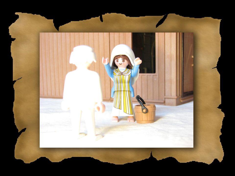 Wie erfuhr Maria, dass sie schwanger war? a)Durch einen Schwangerschaftstest b)Es wurde ihr vom Engel Gabriel gesagt c)Sie wollte mit Josef, ihrem Ver
