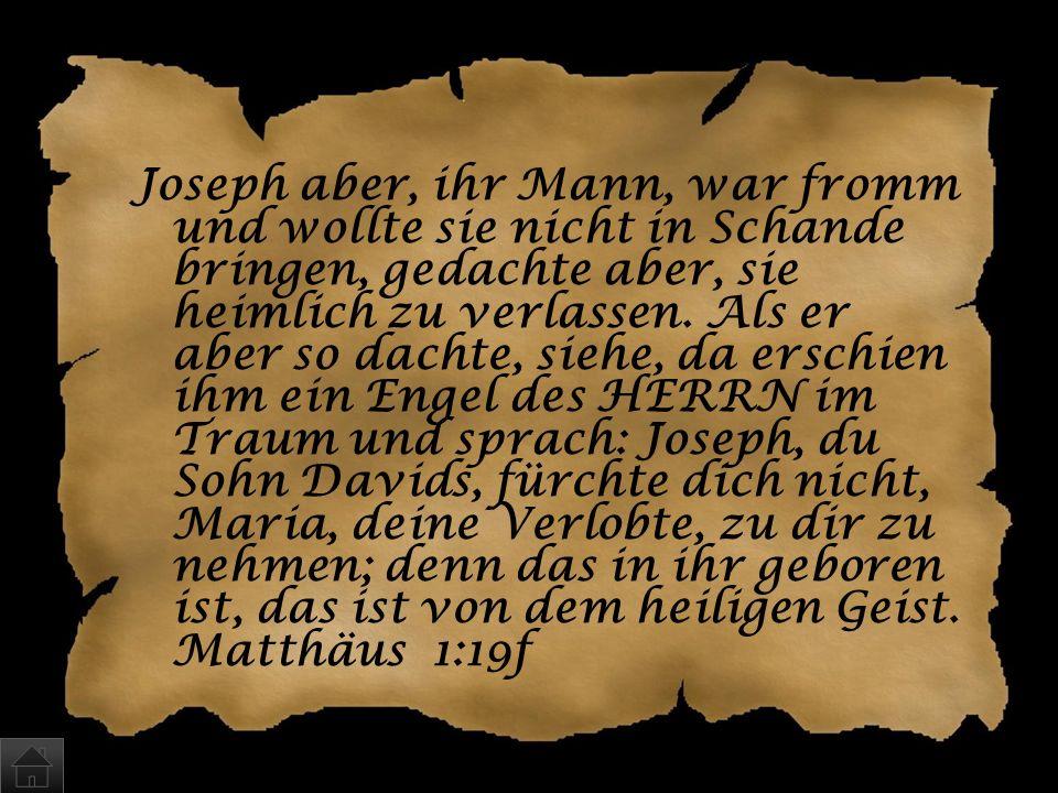 Wer war der Vater von Jesus? a)Josef b)Wer weiß … c)Gott