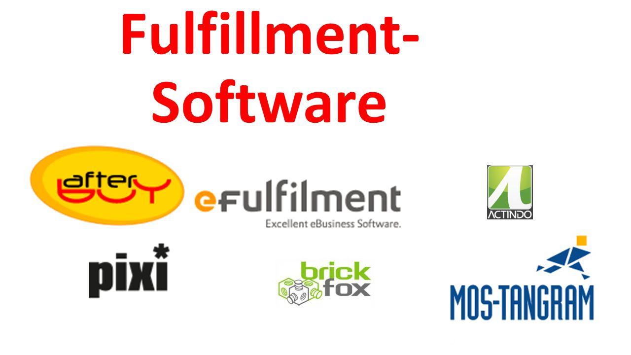Fulfillment- Software