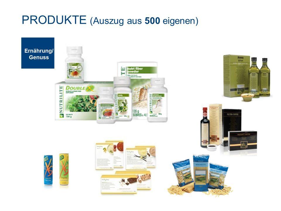 Ernährung Genuss PRODUKTE (Auszug aus 500 eigenen)