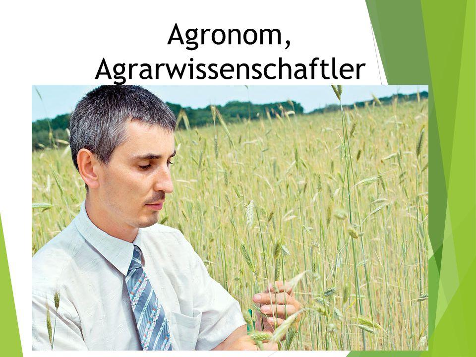 Agronom, Agrarwissenschaftler