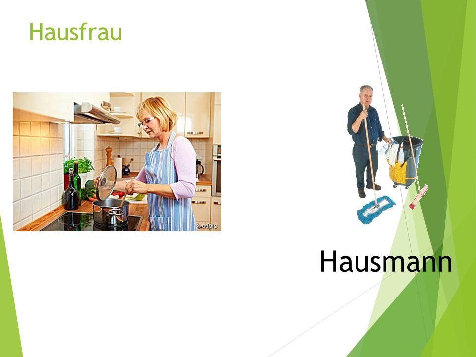 Hausfrau Hausmann