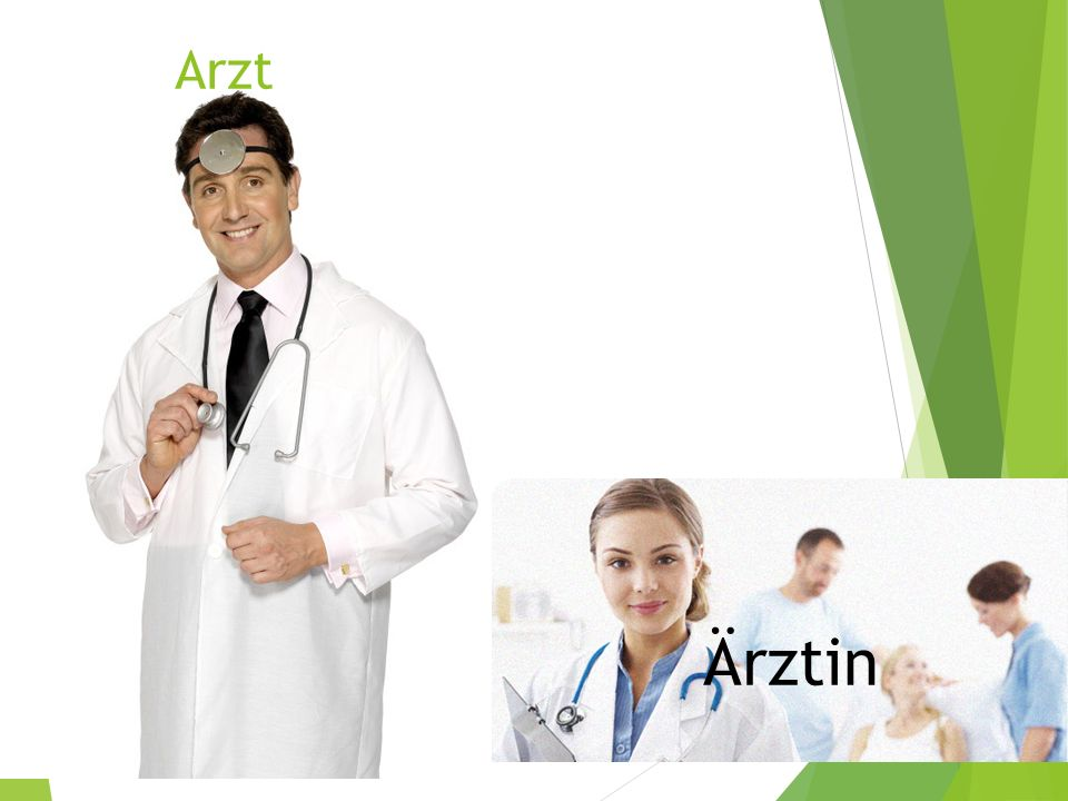 Arzt Ärztin