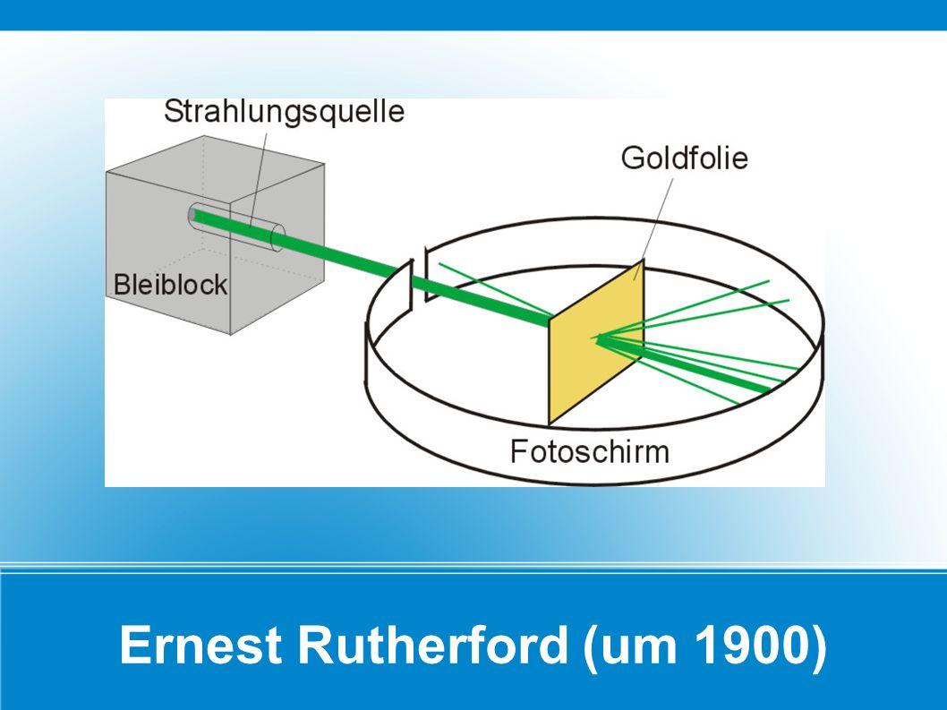 Ernest Rutherford (um 1900)