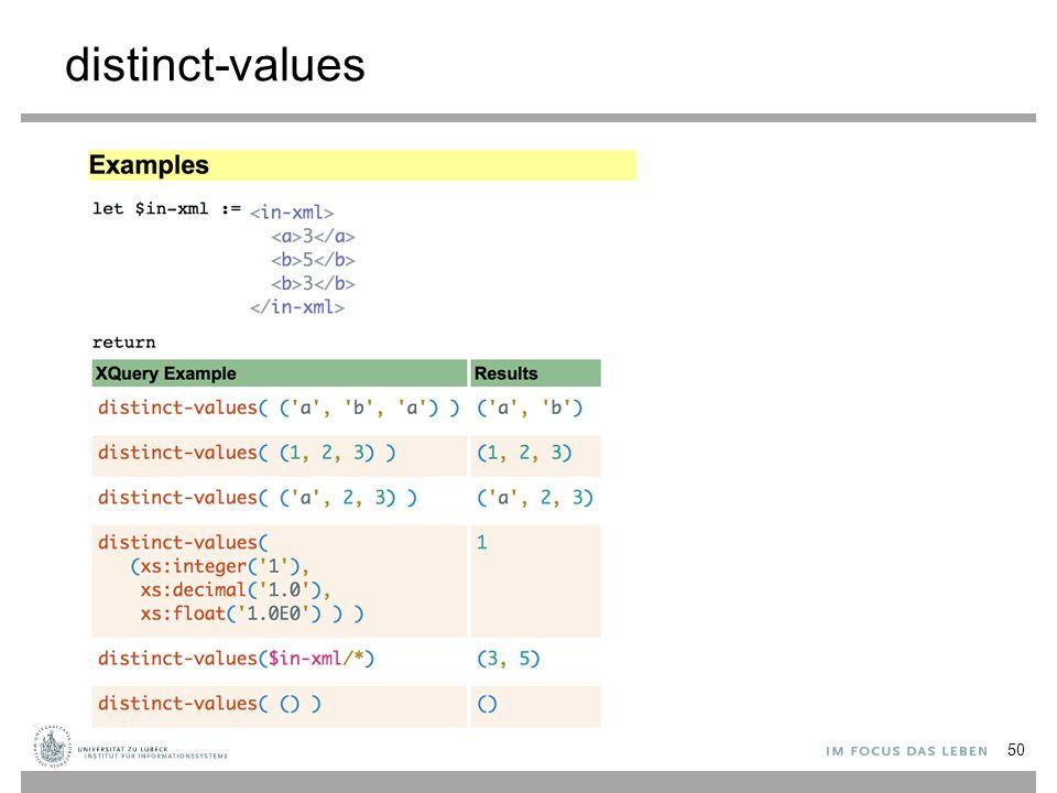 distinct-values 50