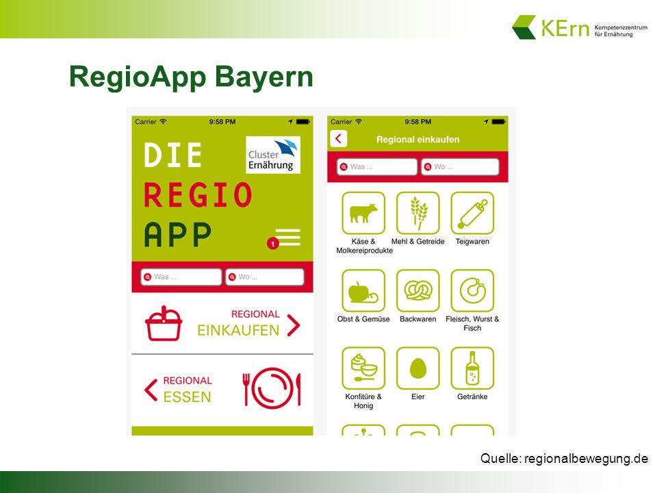 RegioApp Bayern Quelle: regionalbewegung.de