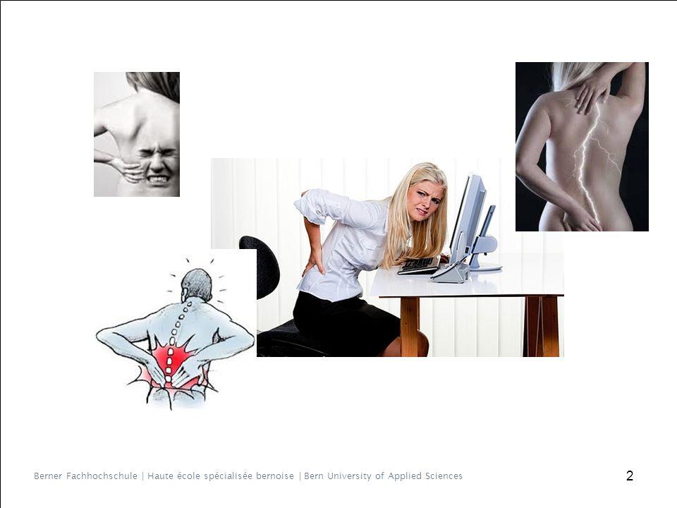 Einführung ▶ Hohe Prävalenz und Inzidenz Rückenschmerzen ▶ 80% unspezifisch ▶ 6 -17% chronisch ▶ Evidenz für erfolgreiche Sekundärprävention Problematik=.