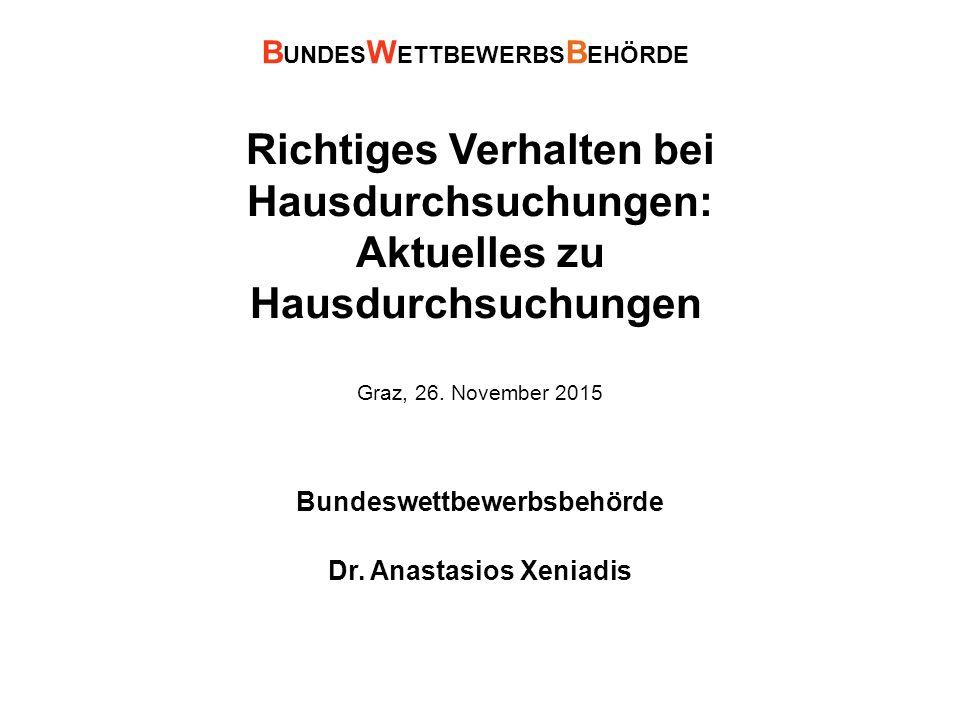 Richtiges Verhalten bei Hausdurchsuchungen: Aktuelles zu Hausdurchsuchungen Graz, 26.
