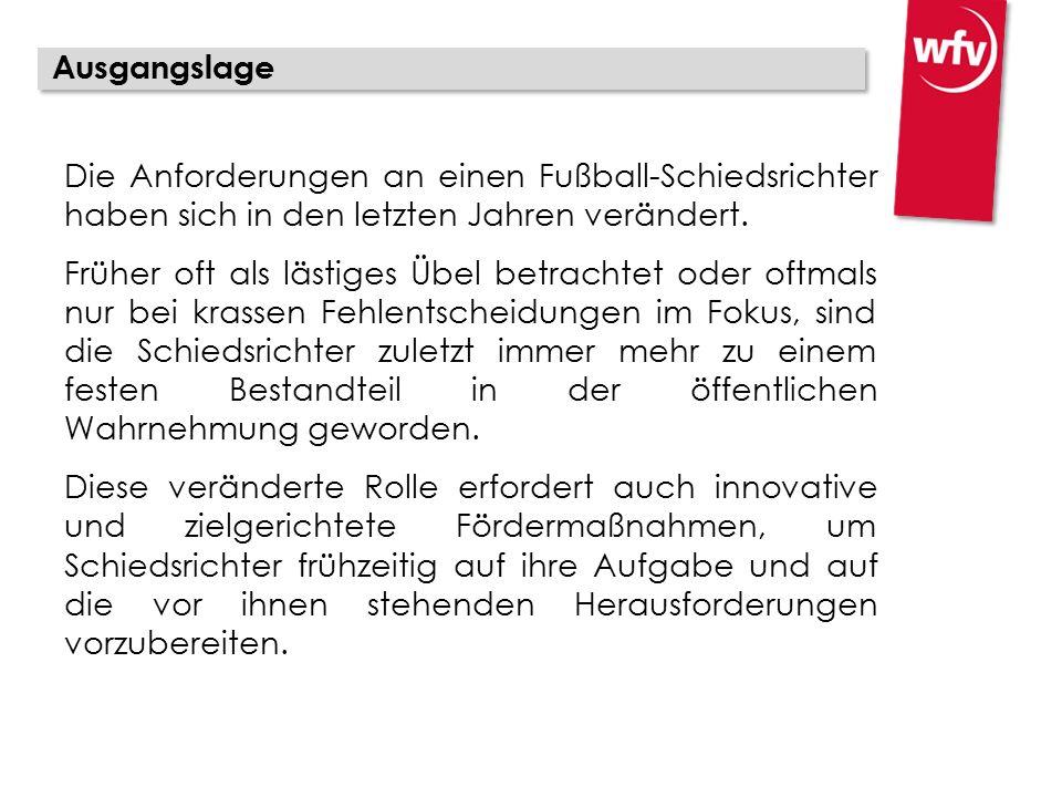 Die Anforderungen an einen Fußball-Schiedsrichter haben sich in den letzten Jahren verändert.