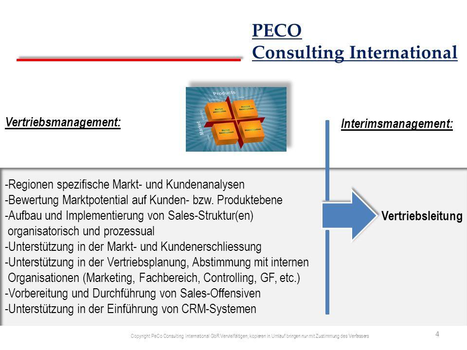 Vertriebsmanagement: -Regionen spezifische Markt- und Kundenanalysen -Bewertung Marktpotential auf Kunden- bzw. Produktebene -Aufbau und Implementieru