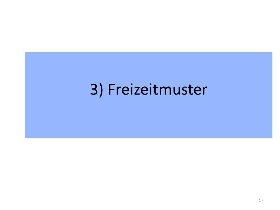 3) Freizeitmuster 17