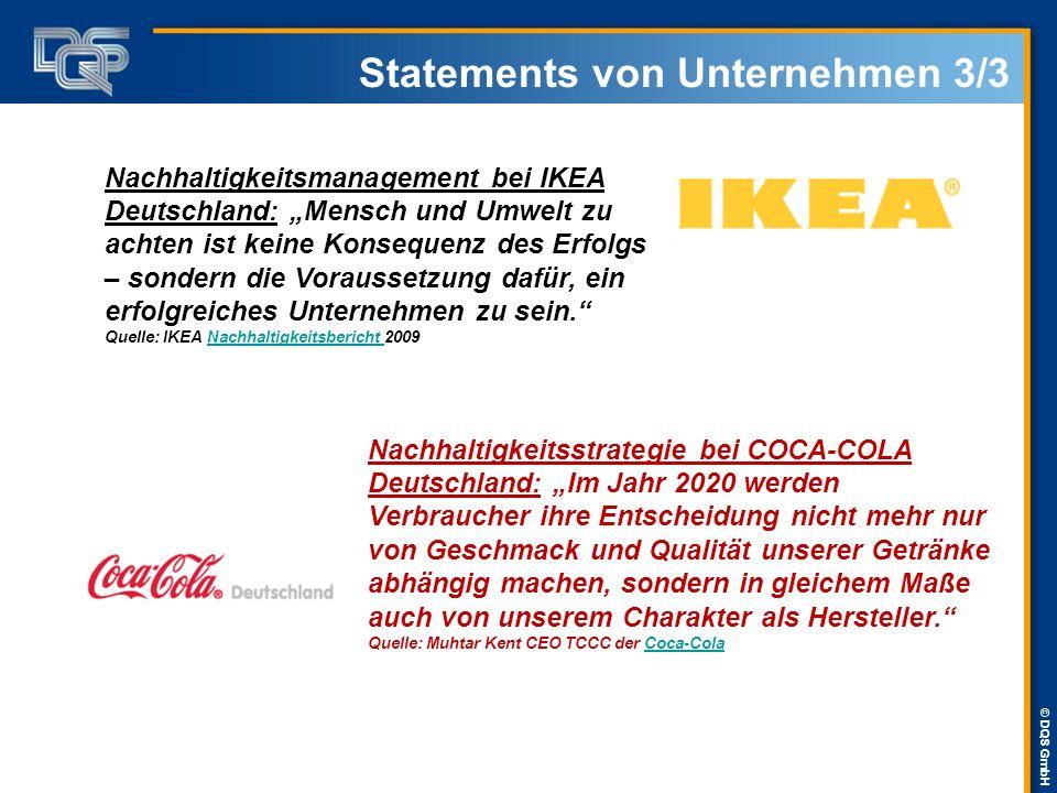 """© DQS GmbH Statements von Unternehmen 3/3 Nachhaltigkeitsmanagement bei IKEA Deutschland: """"Mensch und Umwelt zu achten ist keine Konsequenz des Erfolg"""