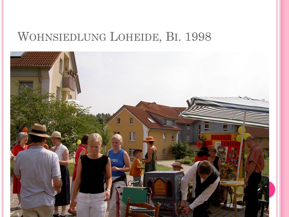 W OHNSIEDLUNG L OHEIDE, B I. 1998