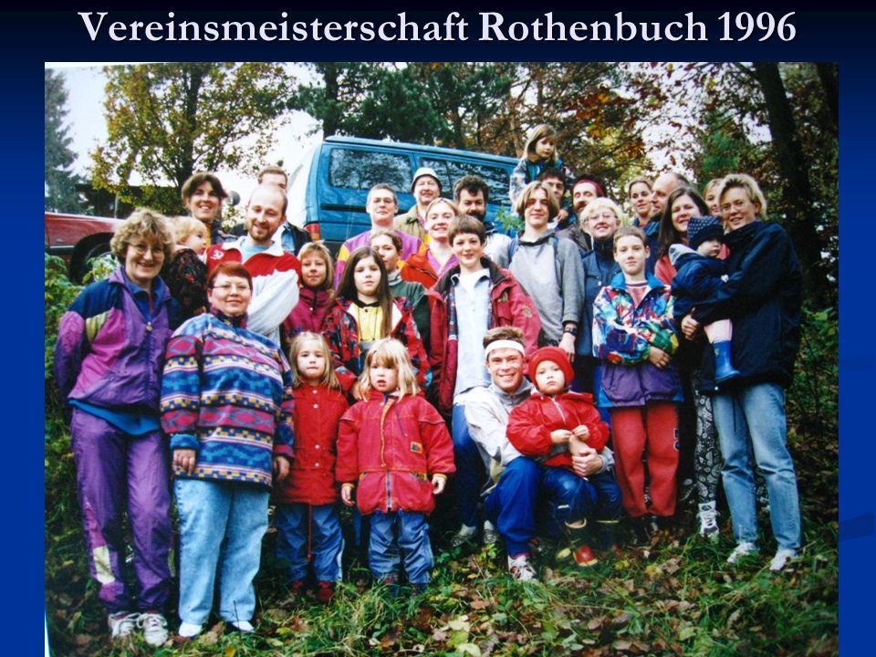 Vereinsmeisterschaft Rothenbuch 1996