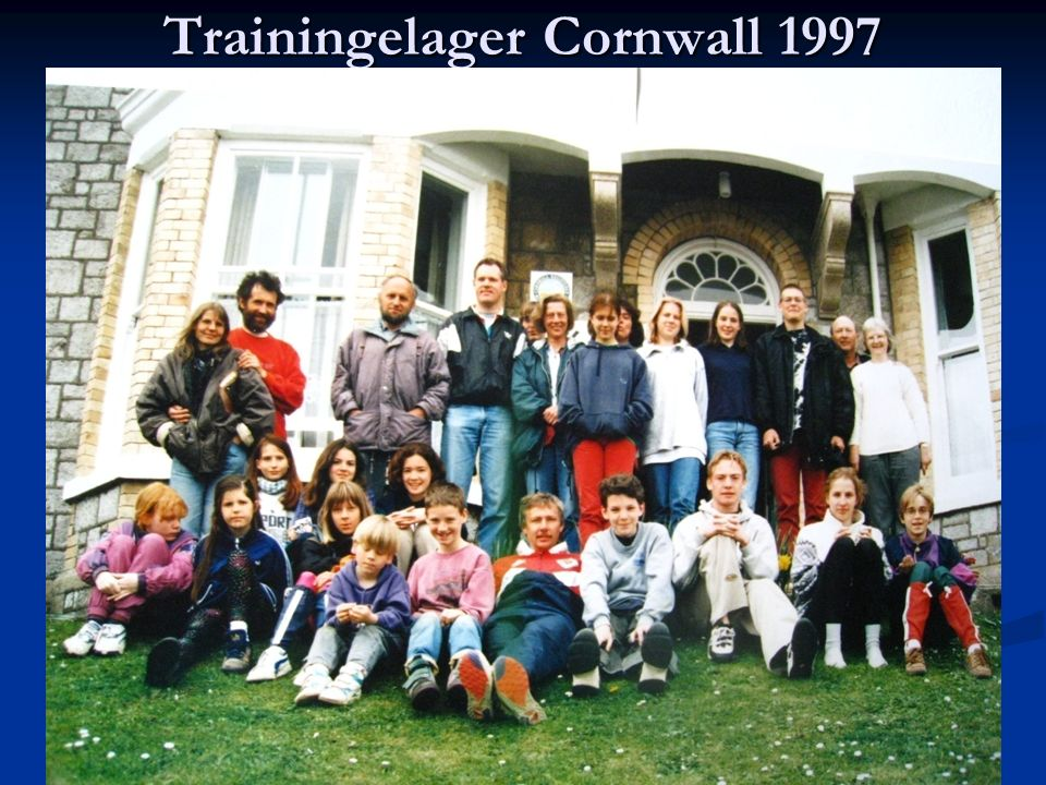 Trainingelager Cornwall 1997