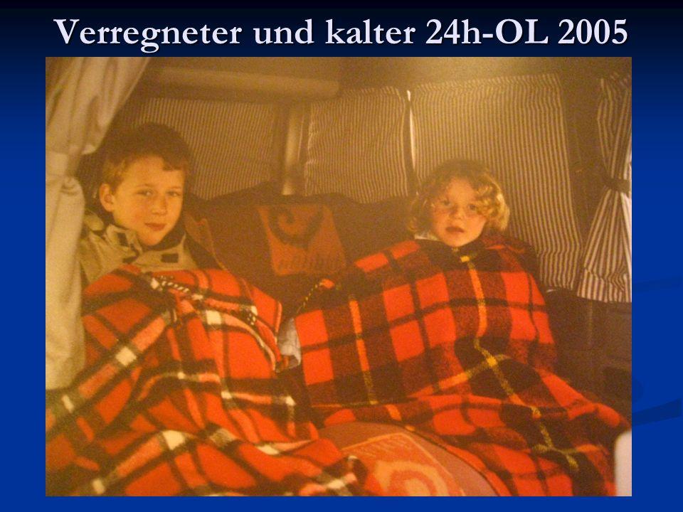 Verregneter und kalter 24h-OL 2005