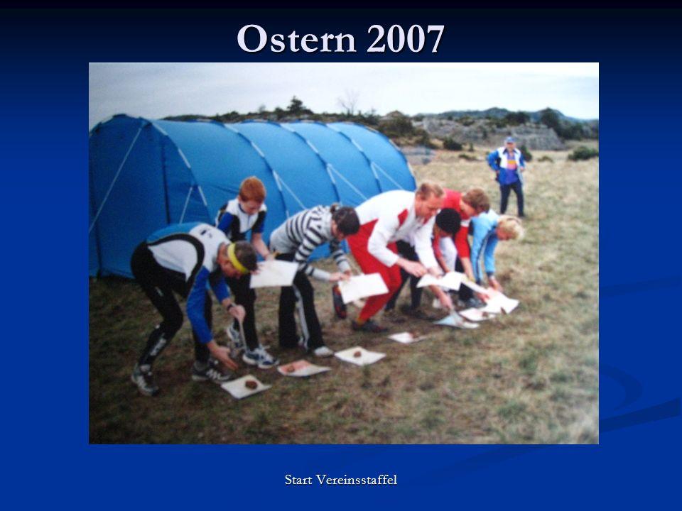 Ostern 2007 Start Vereinsstaffel