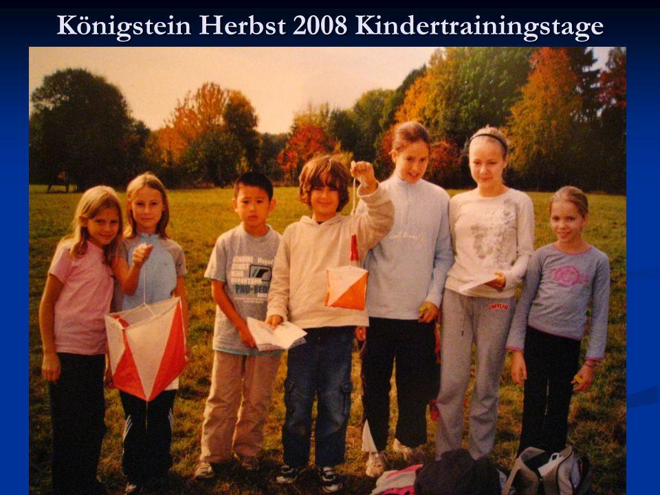 Königstein Herbst 2008 Kindertrainingstage