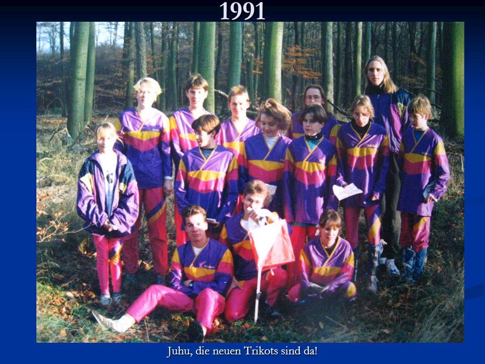 1991 Juhu, die neuen Trikots sind da!