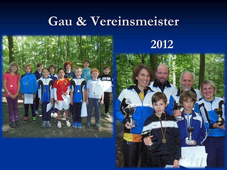 Gau & Vereinsmeister 2012