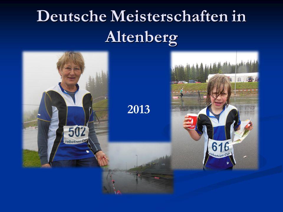 Deutsche Meisterschaften in Altenberg 2013