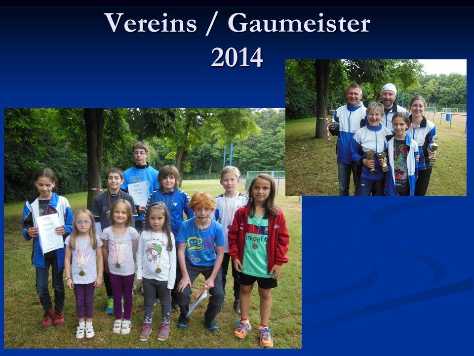 Vereins / Gaumeister 2014