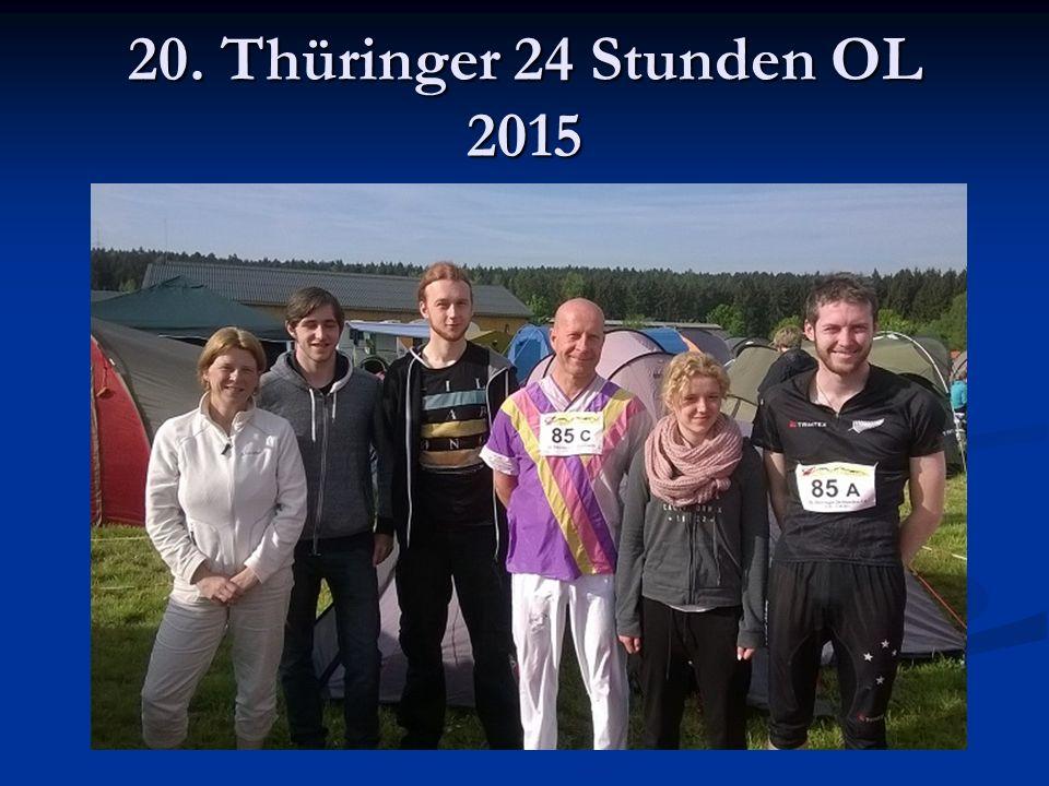 20. Thüringer 24 Stunden OL 2015