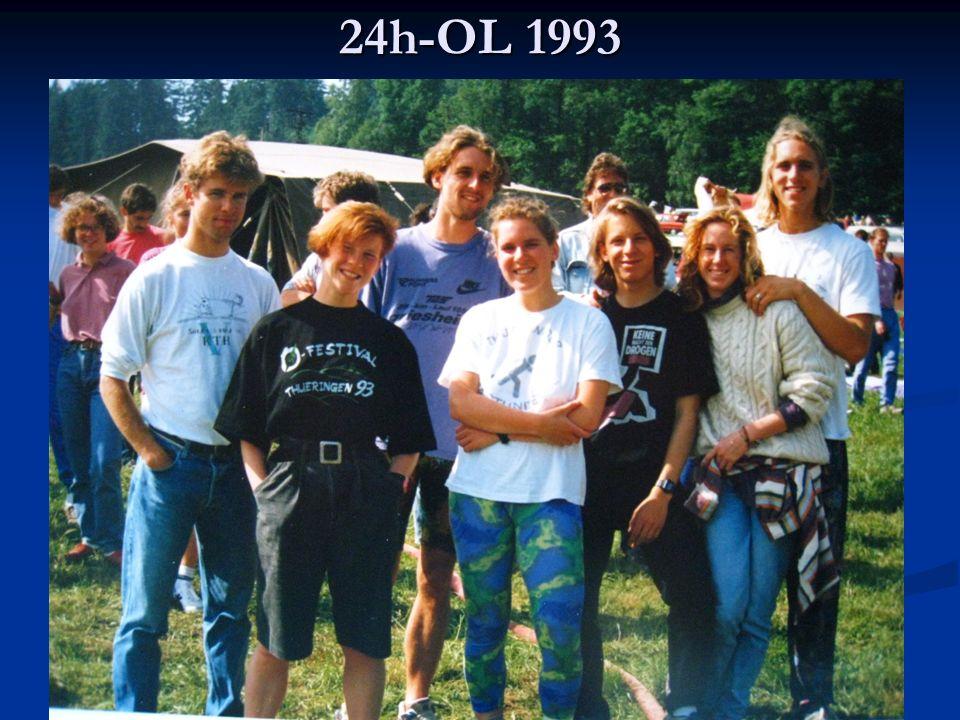 Äppler-Cup 1993 Da kann man mal staunen – OLer sind vielseitig begabt.