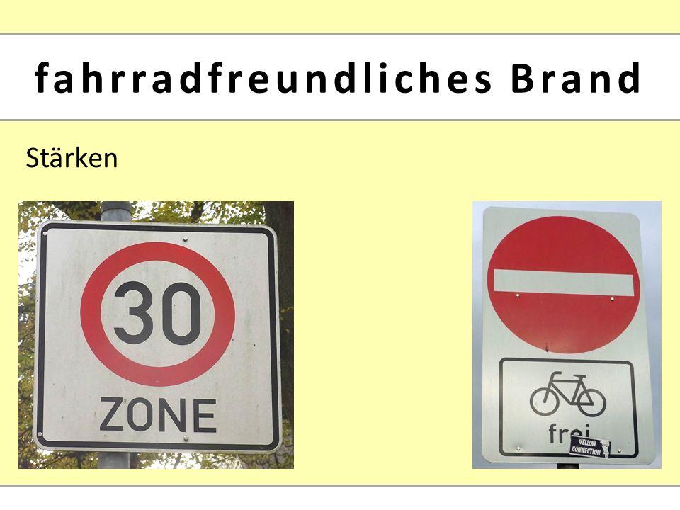 Stärken fahrradfreundliches Brand