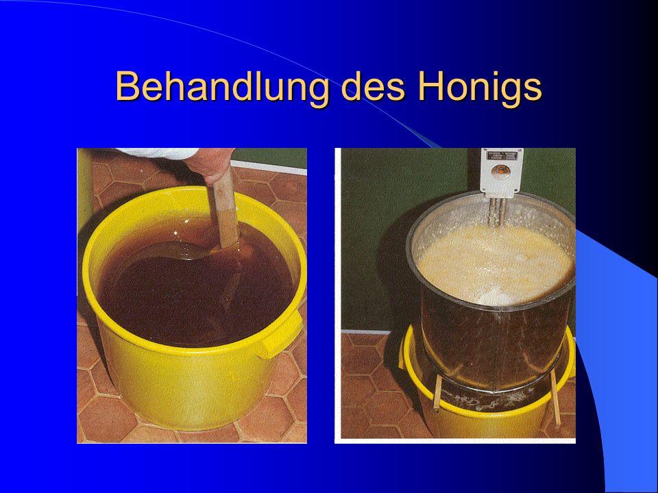 Behandlung des Honigs