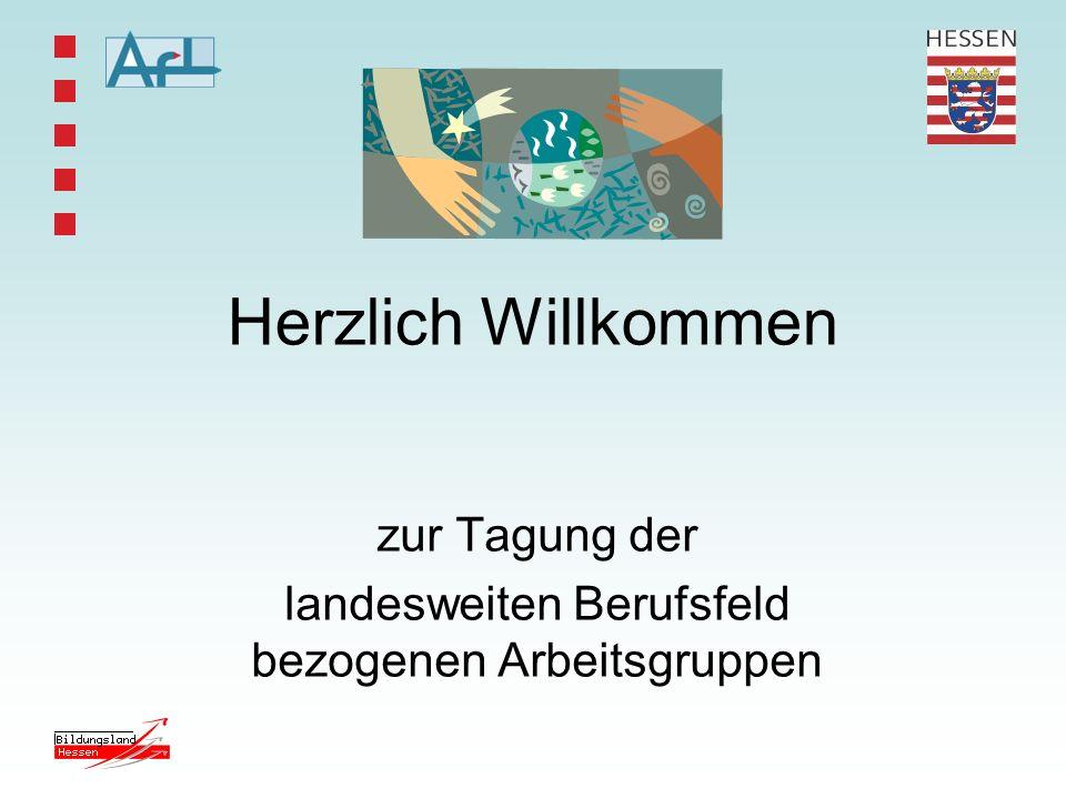 Konzeption von Berufsfeldforen im Rahmen der Multiplikatorenfortbildung des AfL Entwurf - Stand 3.11.2005