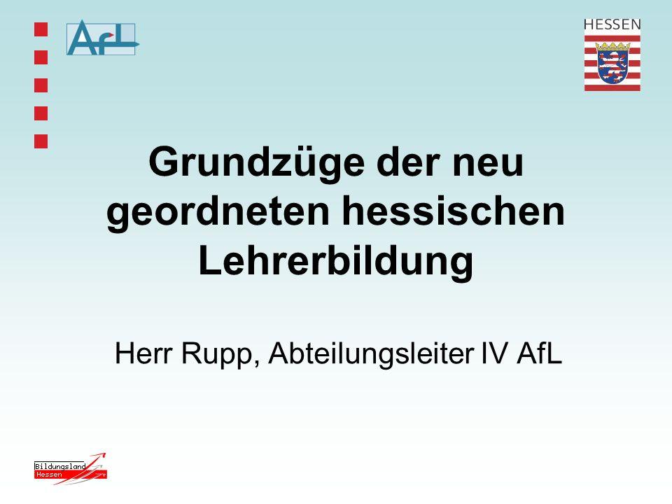 Neue Rahmenbedingungen durch HLbG u.a.