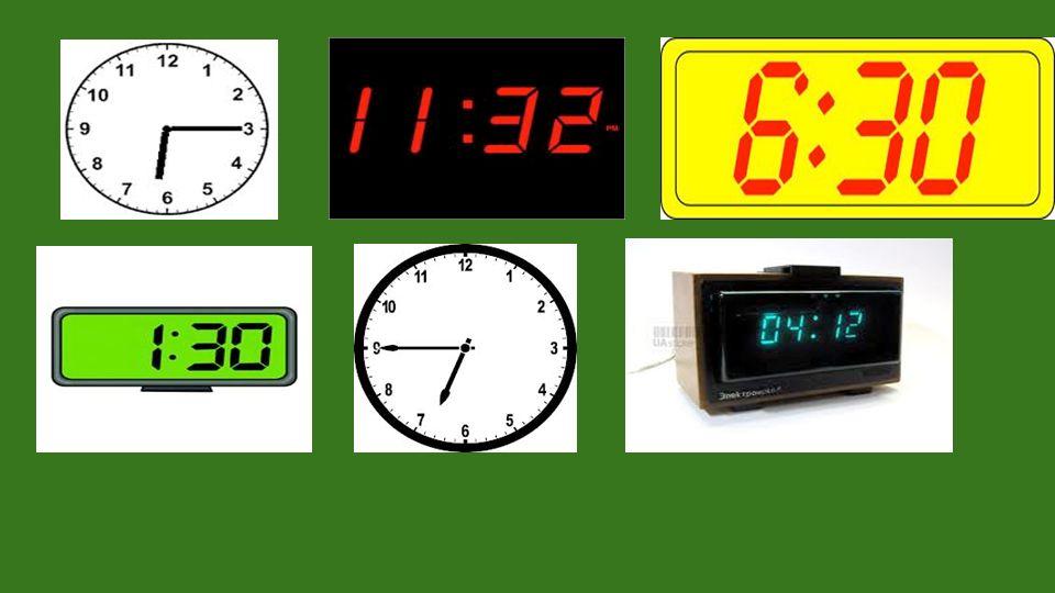 Was machst du um acht Uhr? Um acht Uhr stehe ich auf!