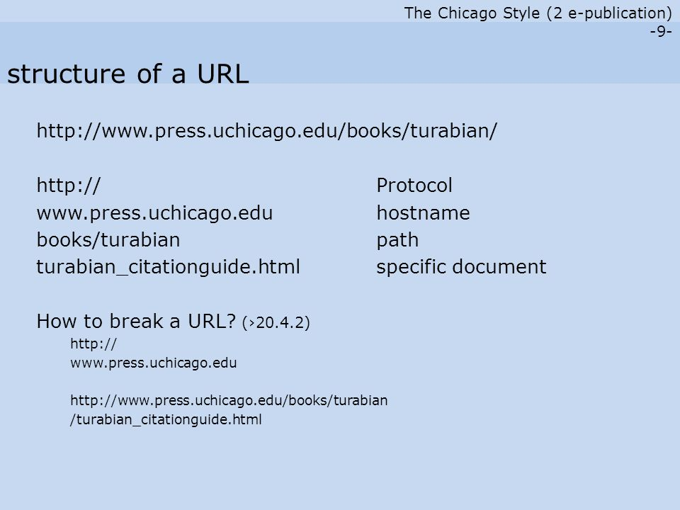 The Chicago Style (2 e-publication) -10- Gierse, Niels.
