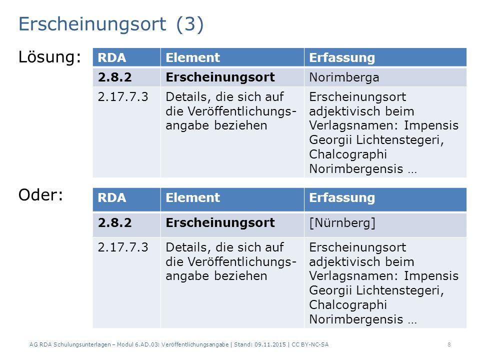 Erscheinungsdatum (4) Angaben des Erscheinungsjahrs in römischen Ziffern werden vorlagegemäss wiedergegeben.