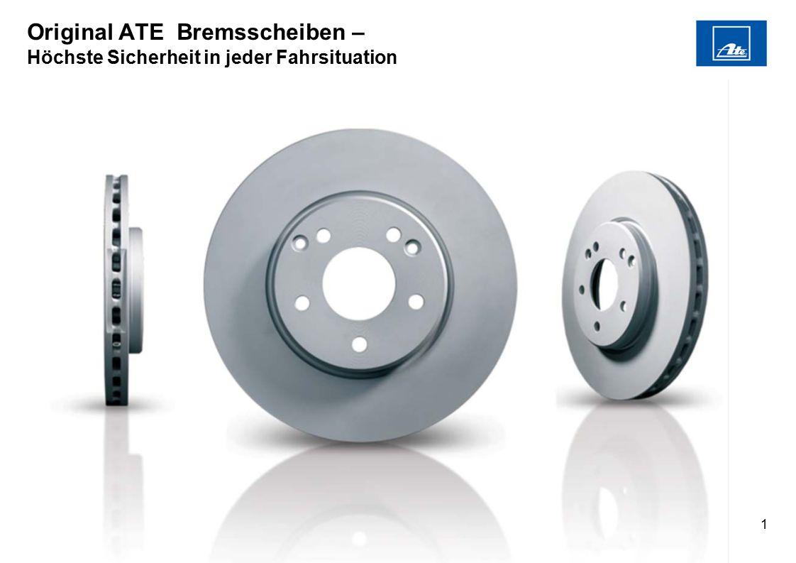2 Original ATE Bremsscheiben – Premium Qualität