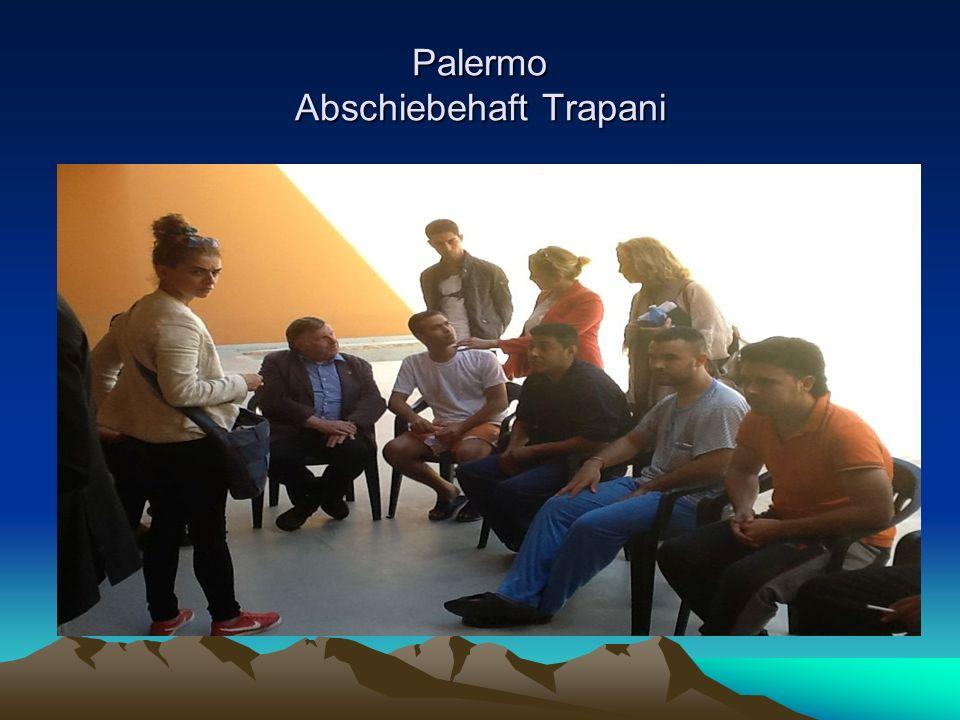 Palermo Abschiebehaft Trapani