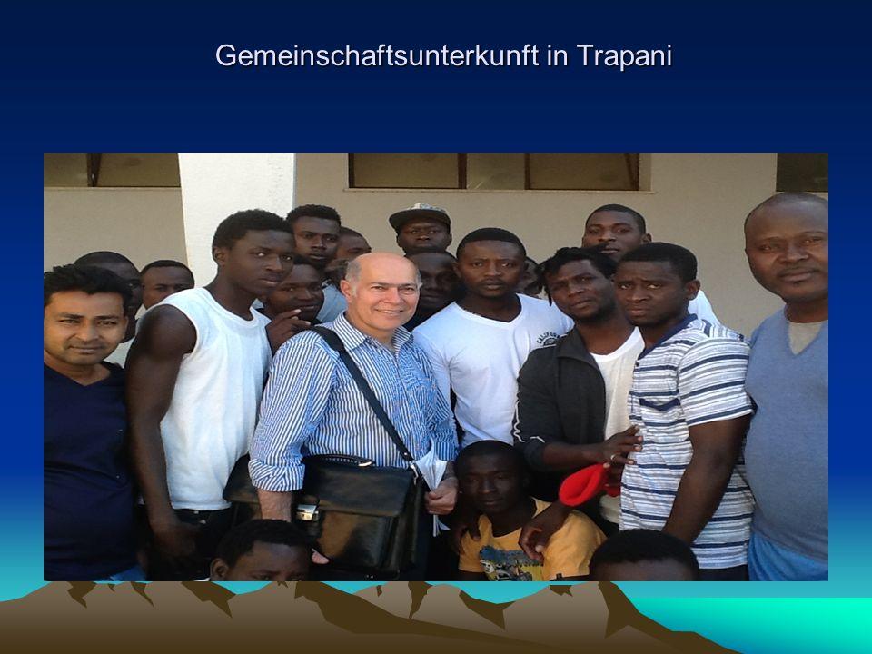 Gemeinschaftsunterkunft in Trapani