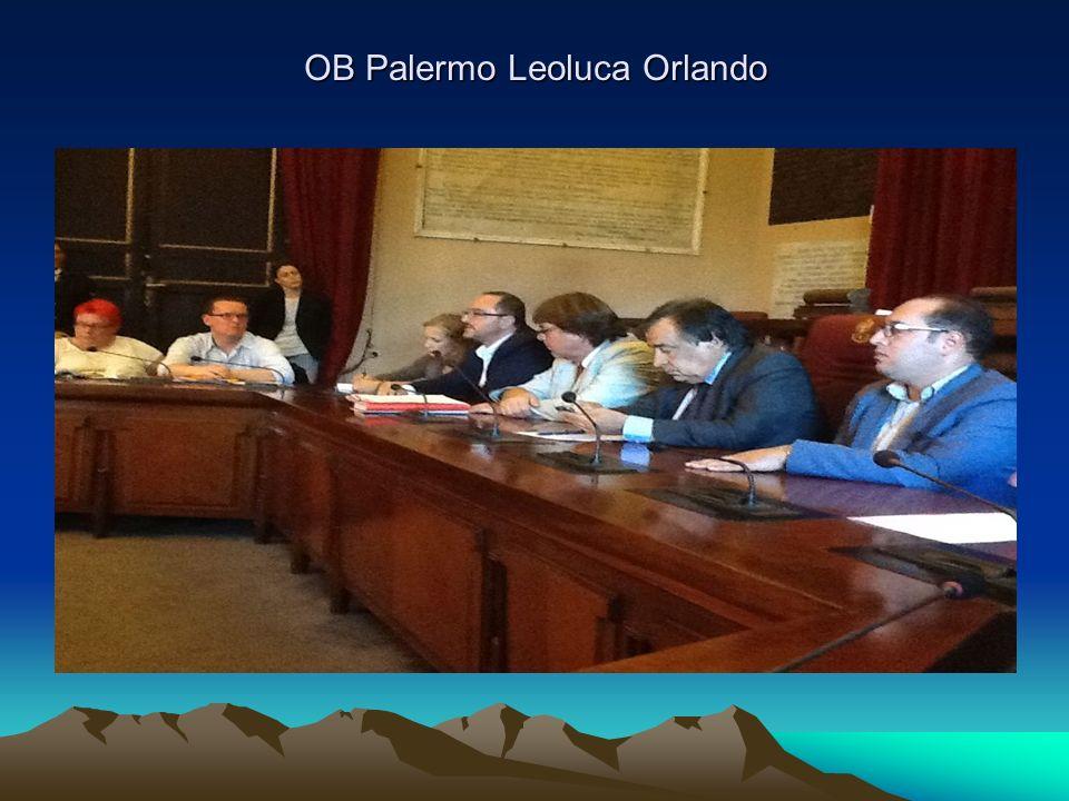 OB Palermo Leoluca Orlando