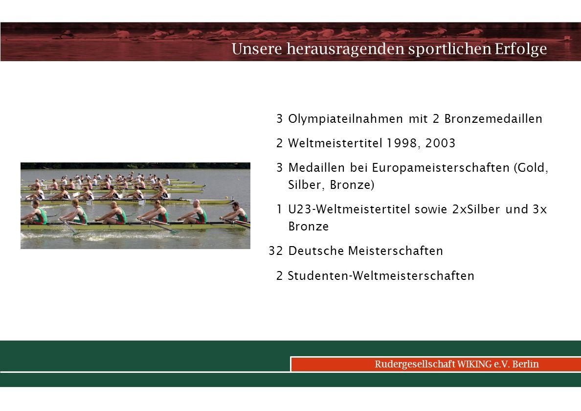 Rudergesellschaft WIKING e.V.Berlin Wie finanzieren wir das.