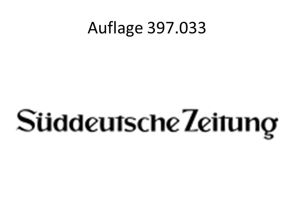 Auflage 397.033